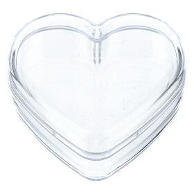 Heart rosary holder box s1