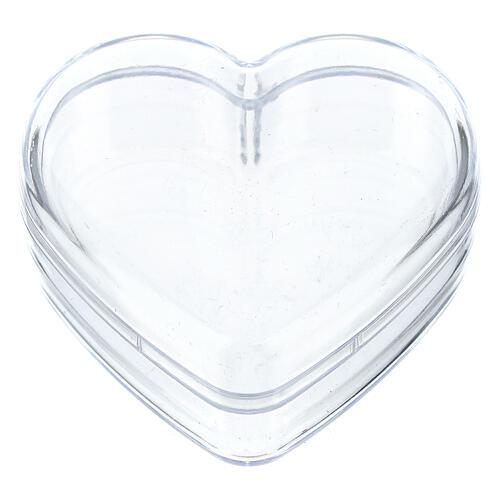 Heart rosary holder box 1