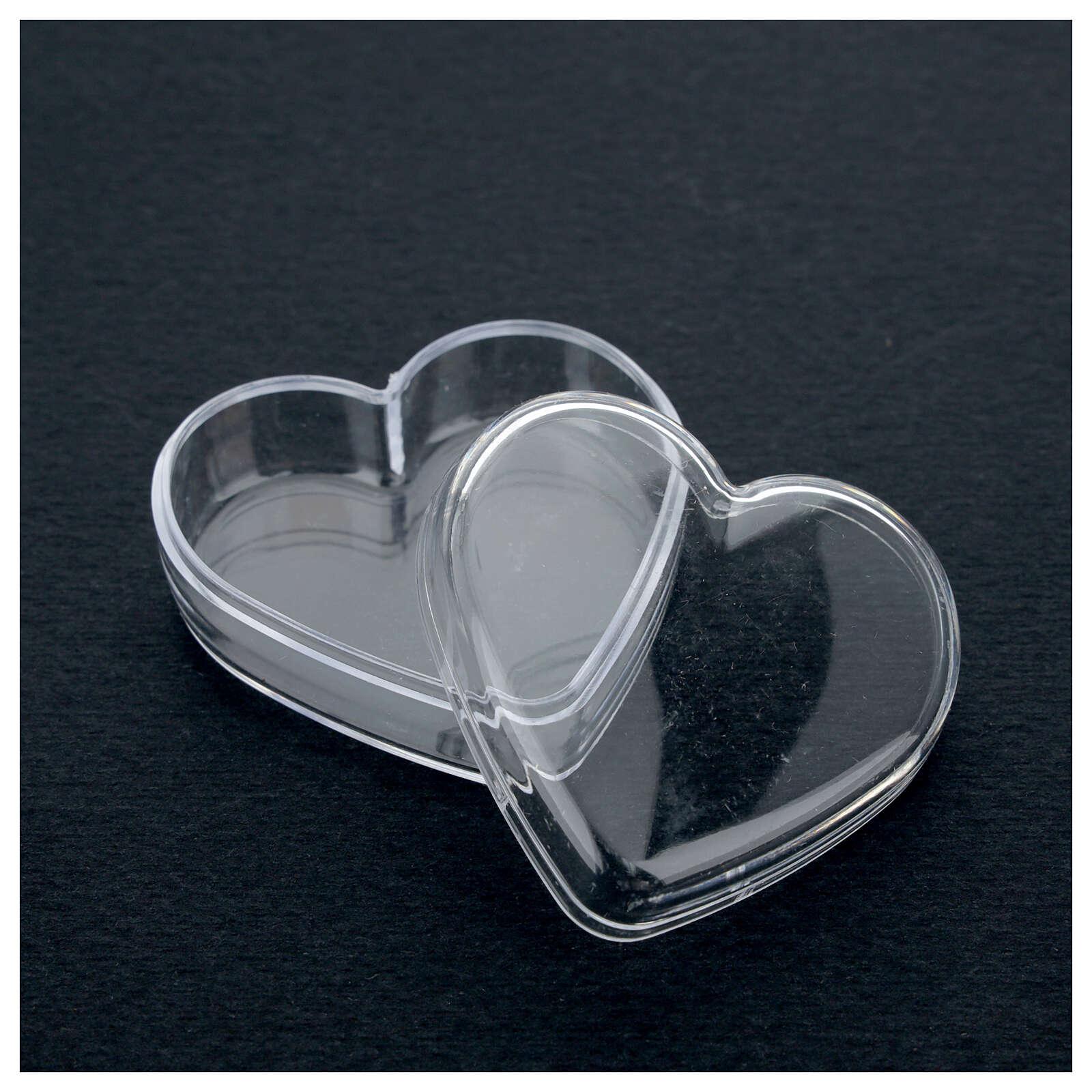 Portarosario scatola cuore  4