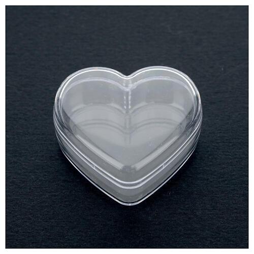 Portarosario scatola cuore  2