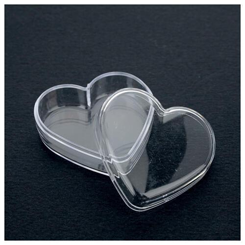 Portarosario scatola cuore  3