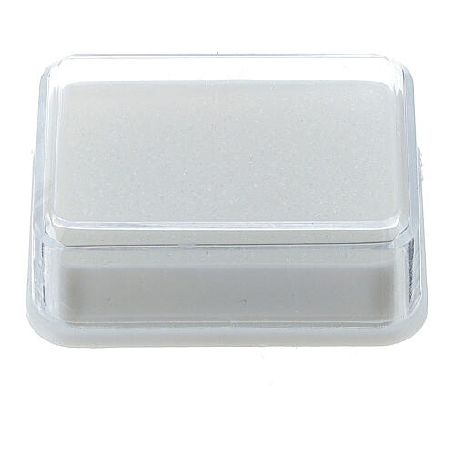 Caja para rosario con esponja 1