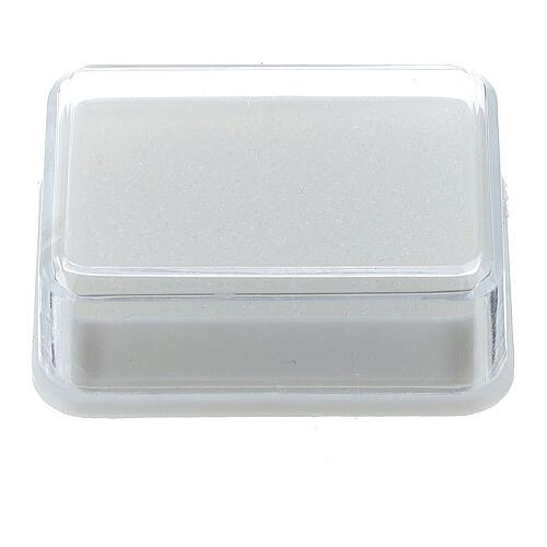 Boîte pour chapelet avec mousse 1