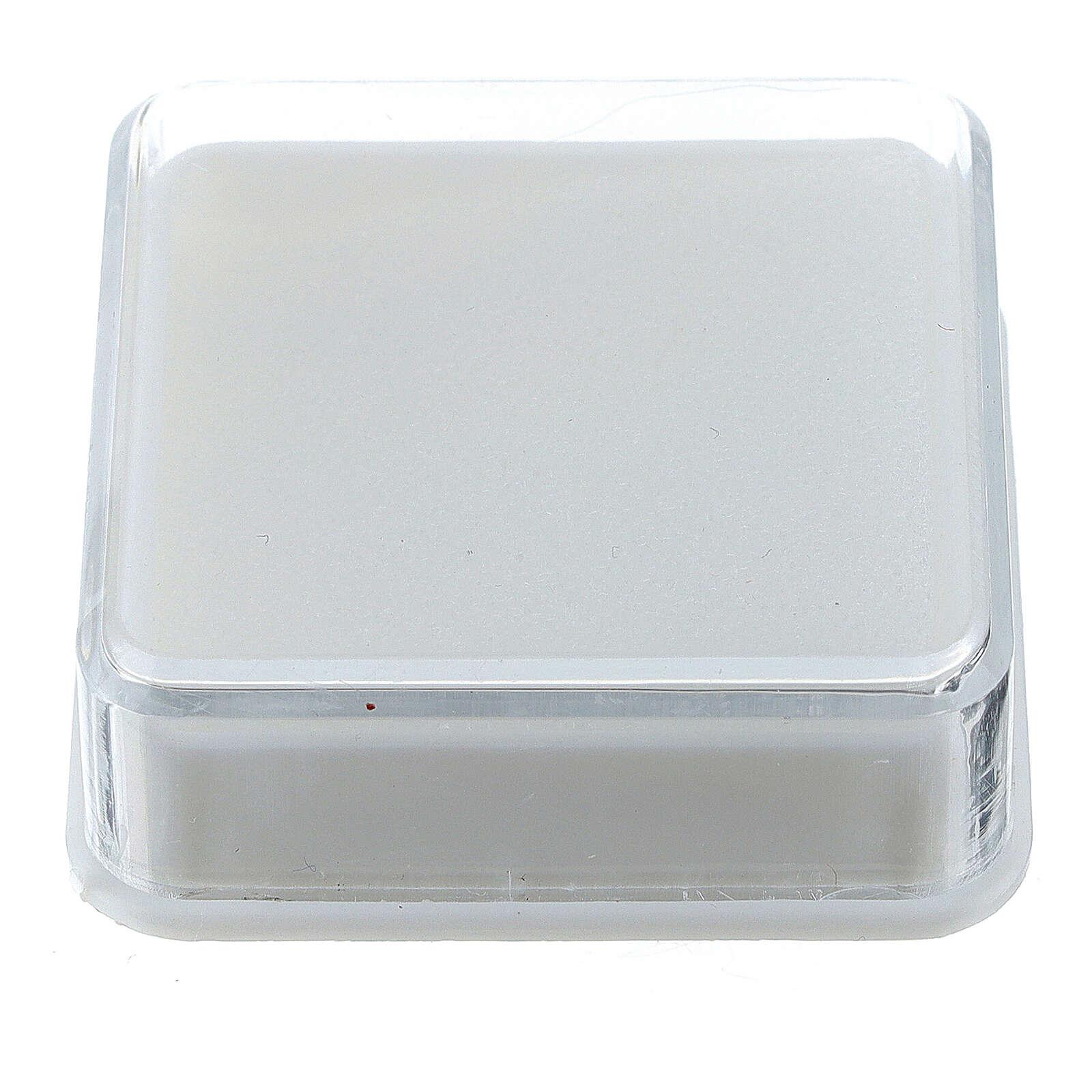 Boîte à chapelet carrée 4