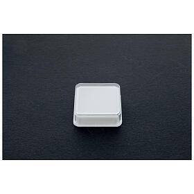 Boîte à chapelet carrée s2