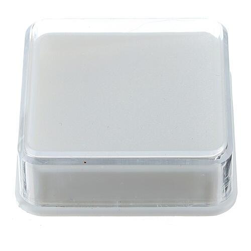 Boîte à chapelet carrée 1