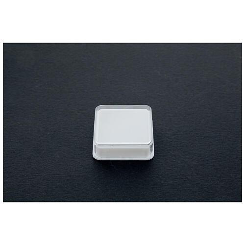 Boîte à chapelet carrée 2