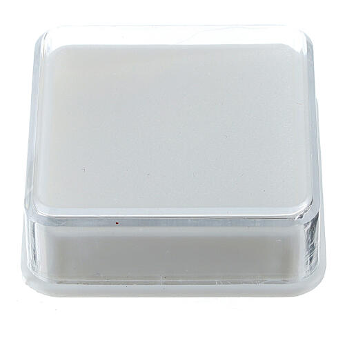 Scatolina portarosario quadrata 1