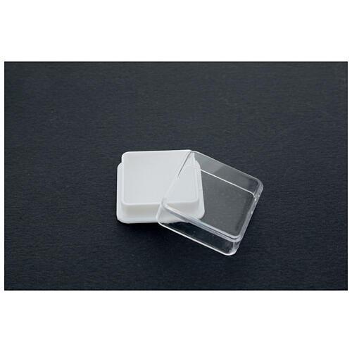 Scatolina portarosario quadrata 3