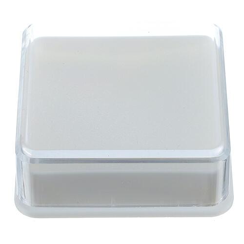 Caja para rosario caja cuadrada 5x5 cm 1