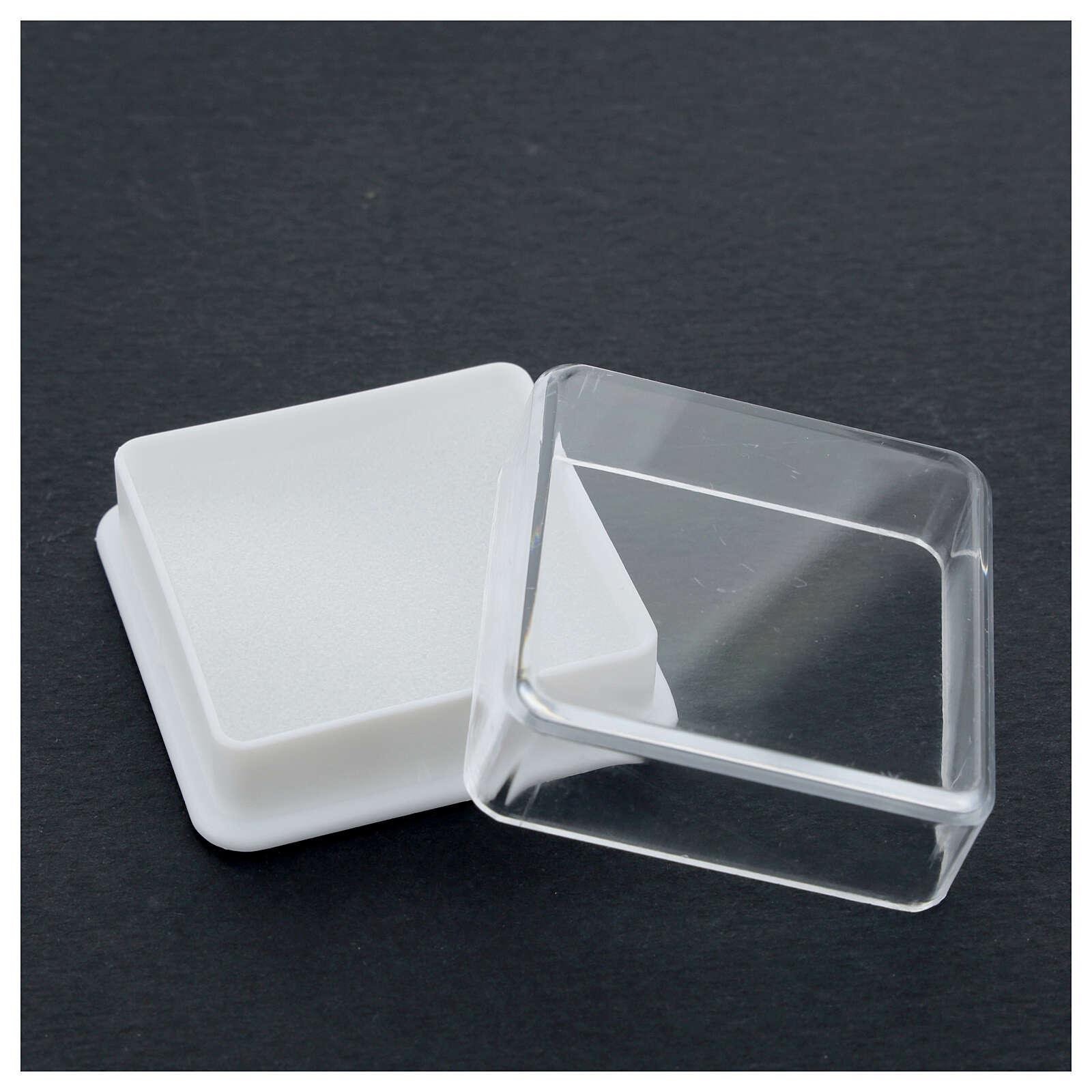 Étui à chapelet boîte carrée 5x5 cm 4