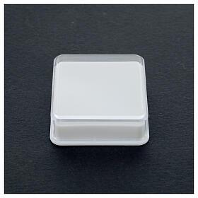 Étui à chapelet boîte carrée 5x5 cm s2