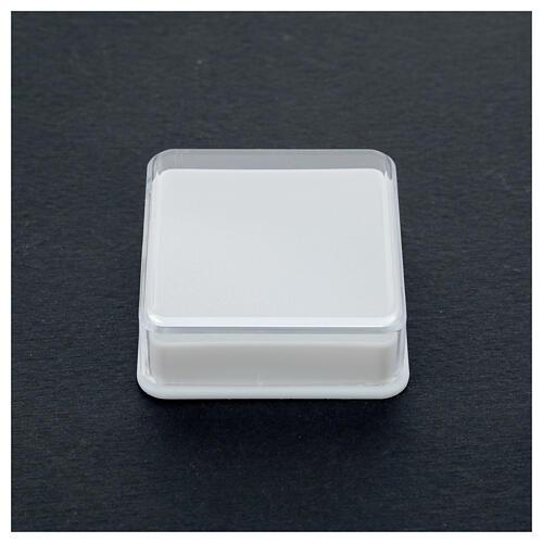 Étui à chapelet boîte carrée 5x5 cm 2
