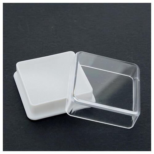 Étui à chapelet boîte carrée 5x5 cm 3