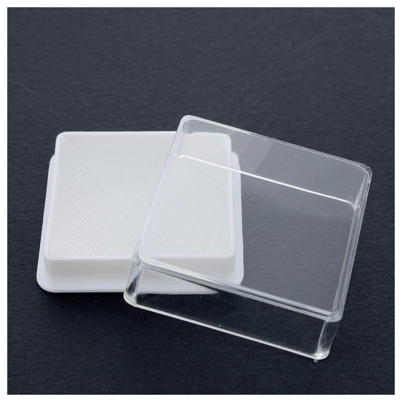 Boîte pour chapelet forme carrée 4