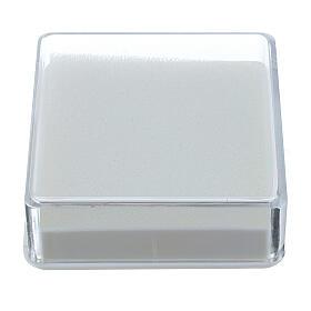 Boîte pour chapelet forme carrée s1