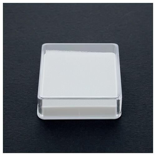 Boîte pour chapelet forme carrée 2