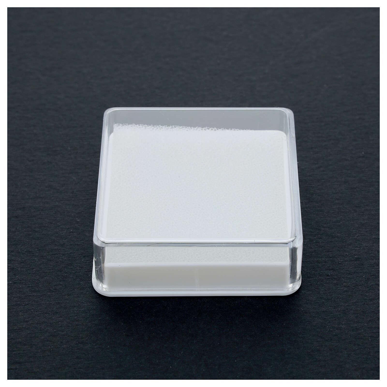 Scatola portarosario quadrata 4