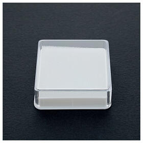 Scatola portarosario quadrata s2