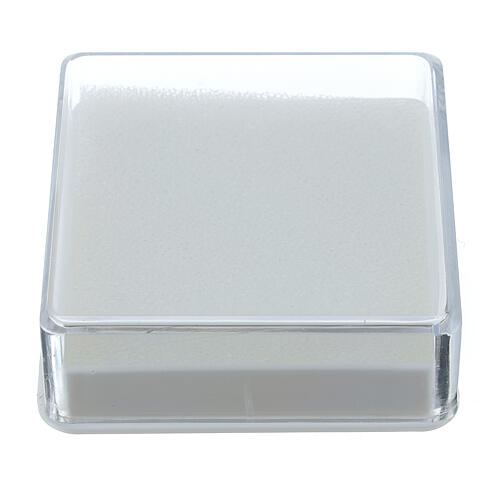 Scatola portarosario quadrata 1