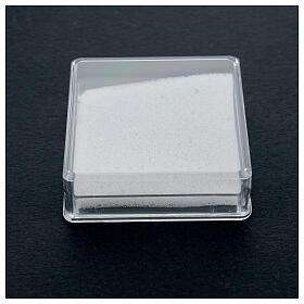 Portarosario con ovatta quadrato s2