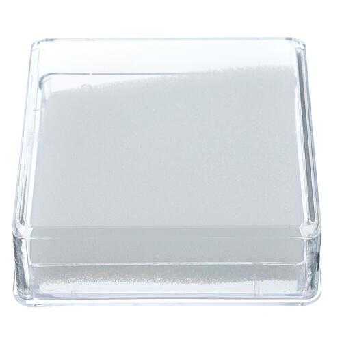 Portarosario con ovatta quadrato 1