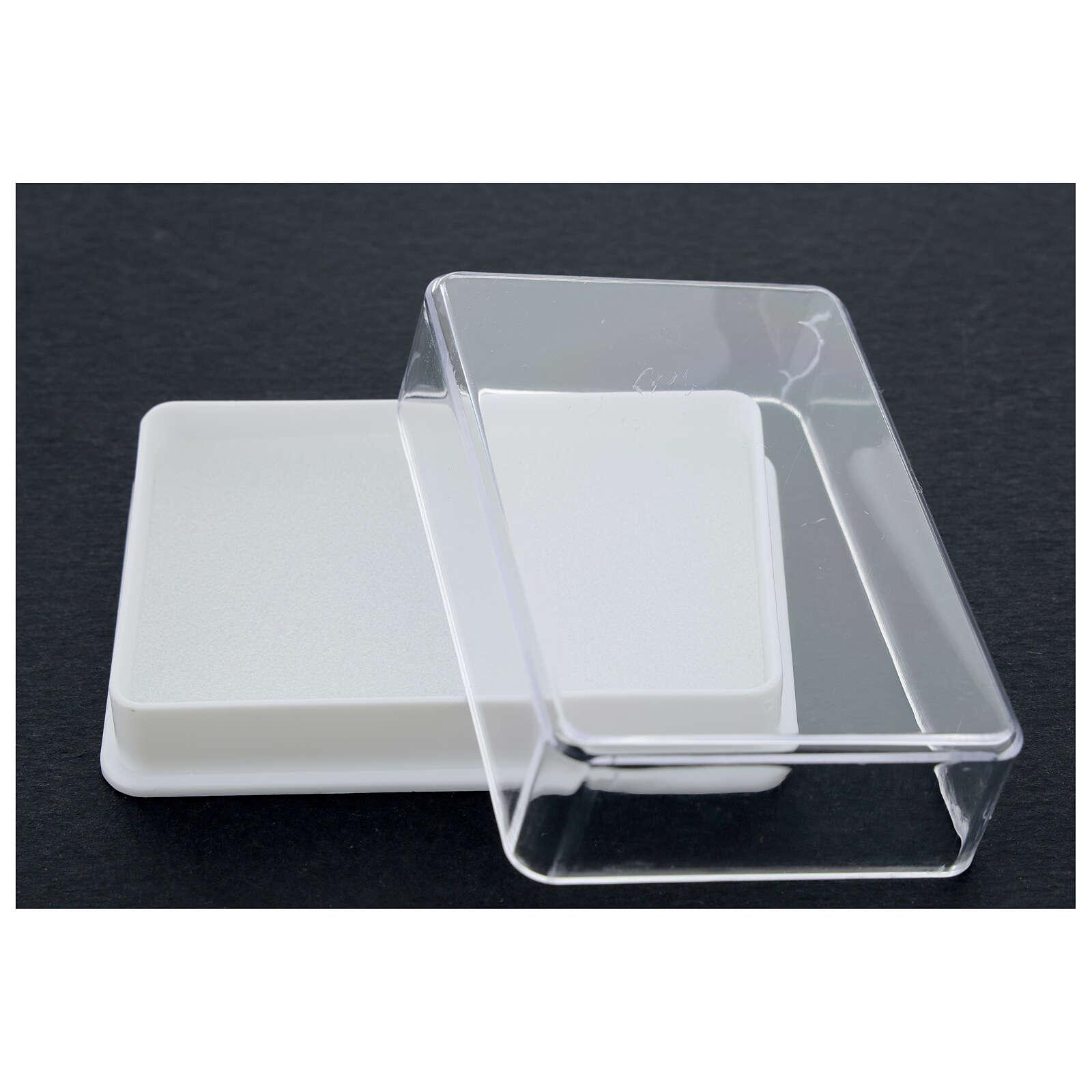 Caja para rosario con esponja rectangular 4