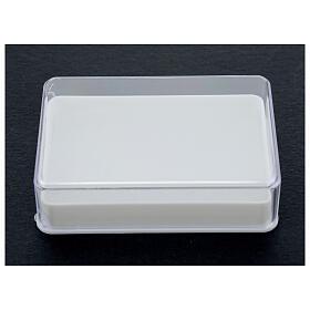 Caja para rosario con esponja rectangular s2