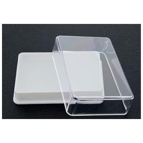 Caja para rosario con esponja rectangular 3