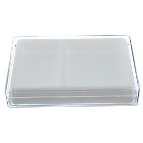 Caja para rosario interior flocado rectangular s1