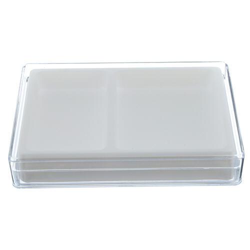 Caja para rosario interior flocado rectangular 1