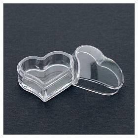 Rosary holder heart beads 3 mm s3
