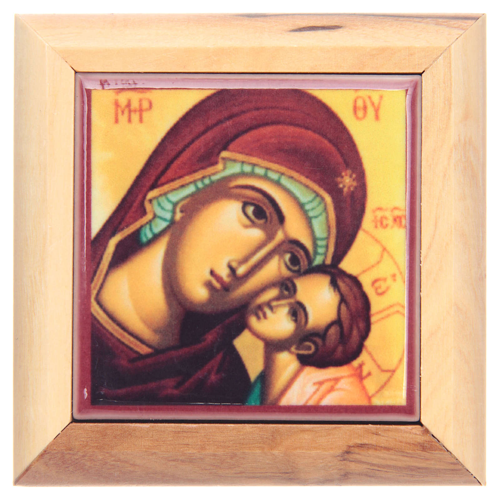 Portarosario scatola olivo Jerusalem 4