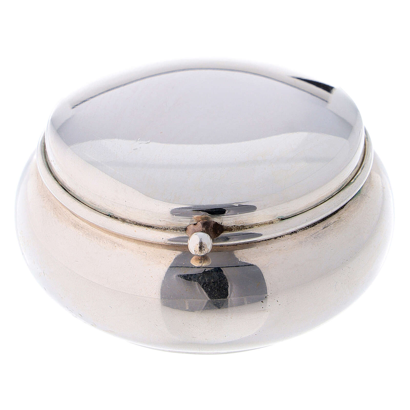 Portarosario in argento 925 liscio 4