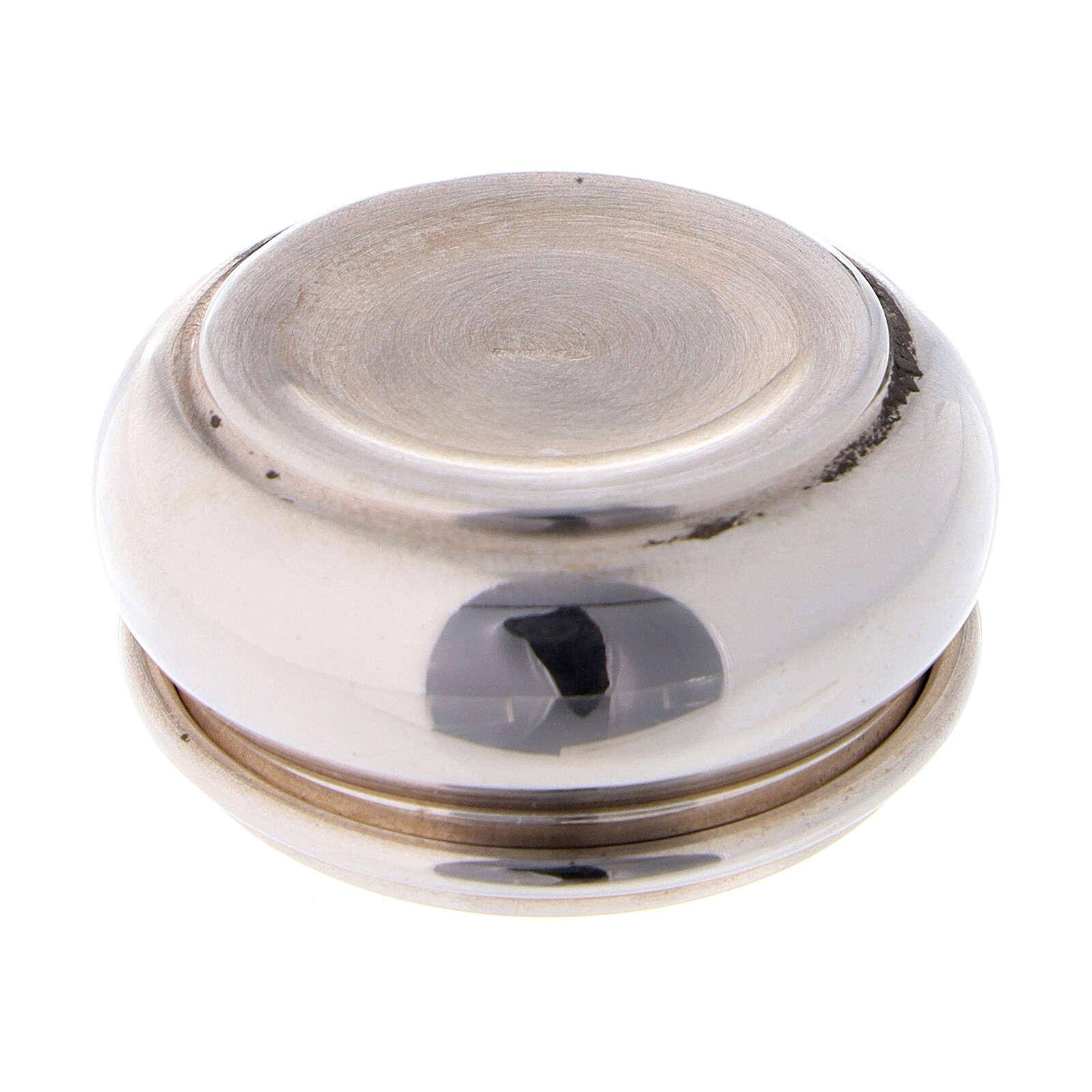 Portarosario 3 cm in argento 925 4