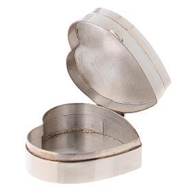 Portarosario cuore Madonna Ferruzzi in argento 925 s3