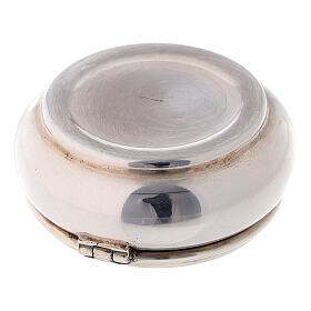 Portarosario rotondo 4 cm in argento 925 s3