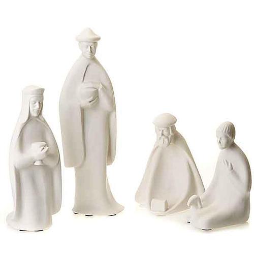 Tres Reyes y Pastor 40-55 cm Francesco Pinton 1