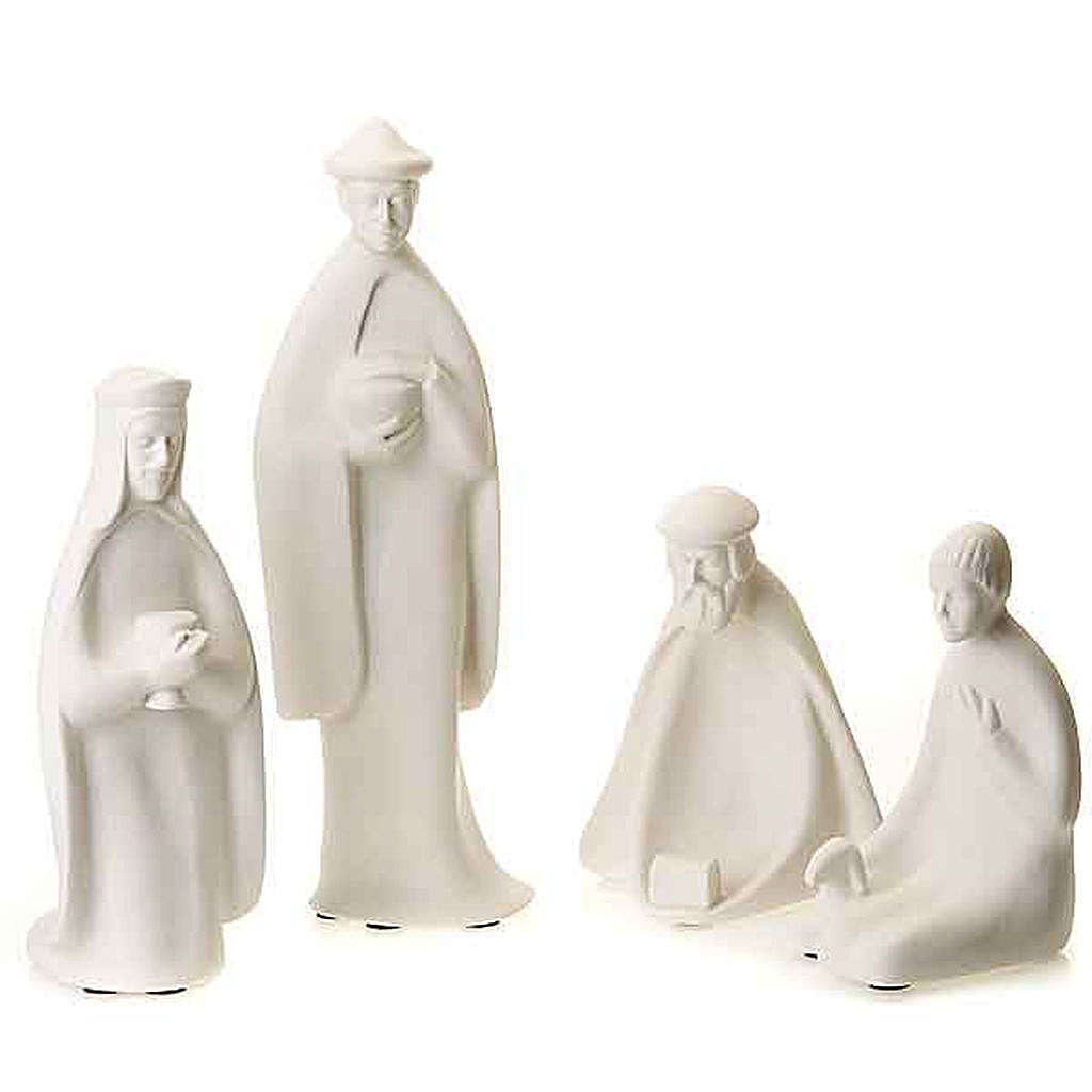 Wise Kings and shepherd 40-55 cm Francesco Pinton 4