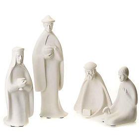Wise Kings and shepherd 40-55 cm Francesco Pinton s1
