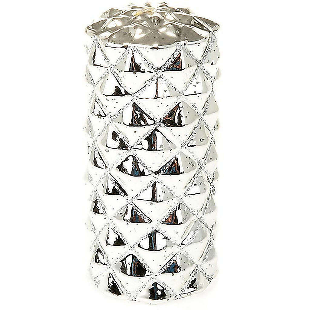 Cero di Natale argento 3