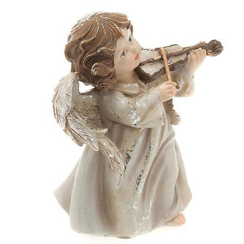 Angioletto musicista con violino decoro di Natale 2