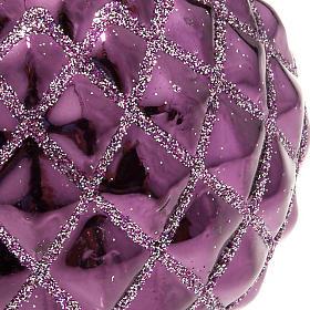 Christmas decoration, purple bauble s2