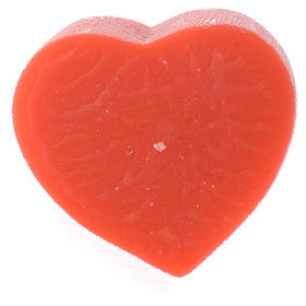 Perfumed candle, heart shape 65x110mm s1