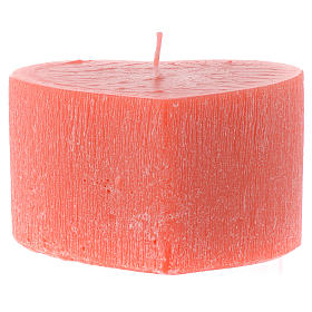 Perfumed candle, heart shape 65x110mm s2