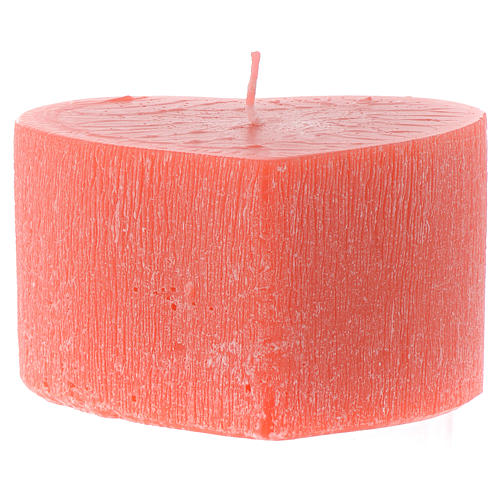 Scented heart shape candle, 65x110mm 2