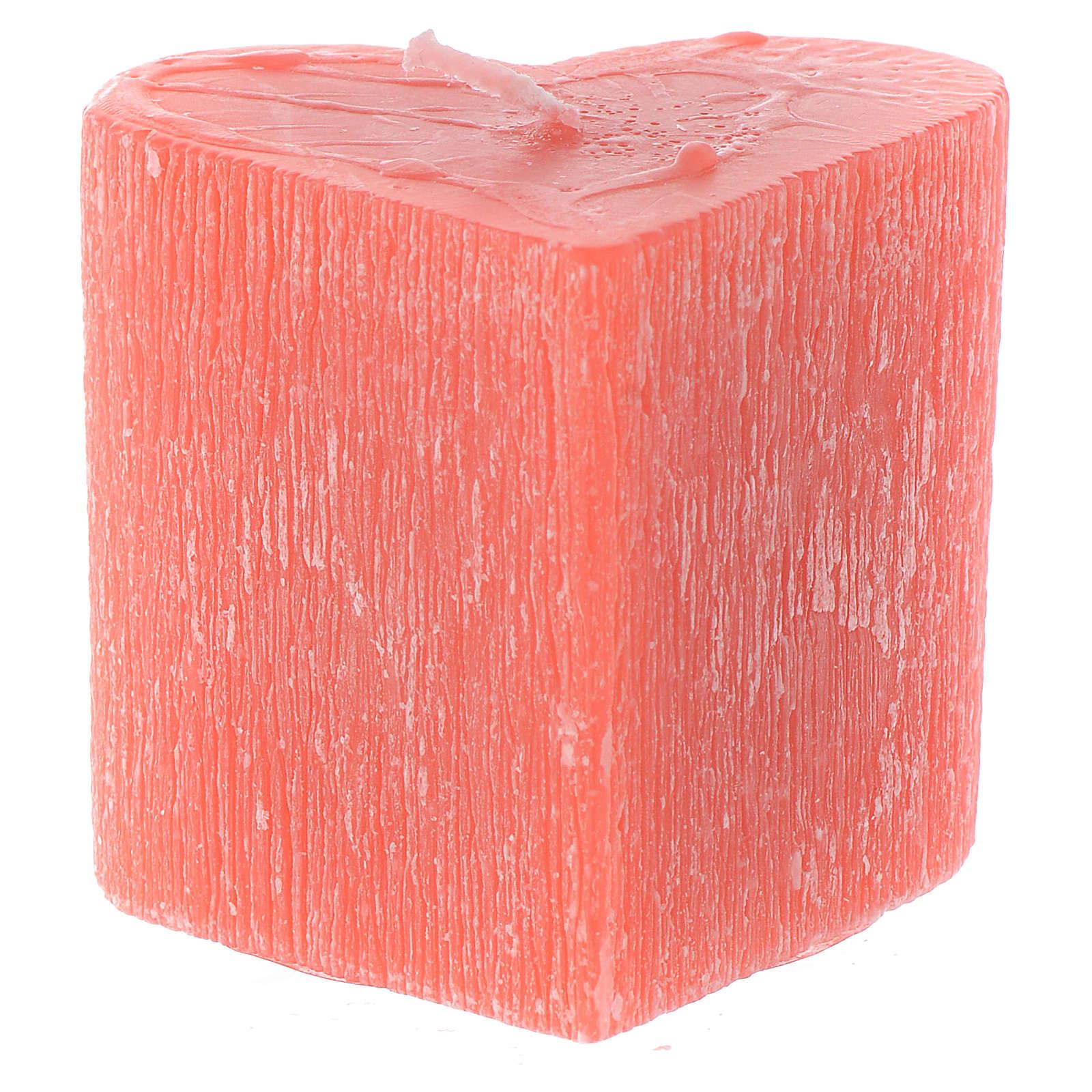 Bougie Coeur parfumé 55x65 mm 3