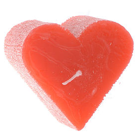 Świeca serce zapachowa 55x65 mm s1