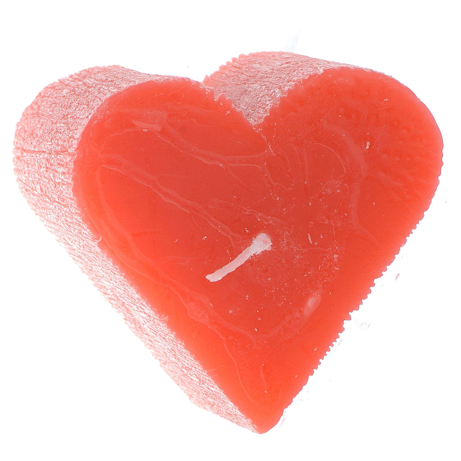 Vela 55x65 mm Coração perfumado 3