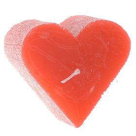 Velas de Natal: Vela 55x65 mm Coração perfumado